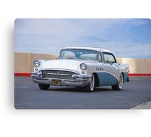 1955 Buick Century Four Door Hardtop Canvas Print