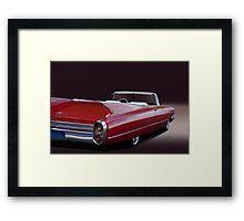 1960 Cadillac Convertible Framed Print