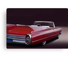 1960 Cadillac Convertible Canvas Print