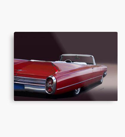 1960 Cadillac Convertible Metal Print