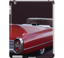 1960 Cadillac Convertible iPad Case/Skin