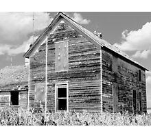 The Stark Farmhouse Photographic Print