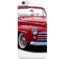 1947 Ford Deluxe Convertible Coupe iPhone Case/Skin
