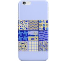By the Sea - Quasi-Quilt iPhone Case/Skin