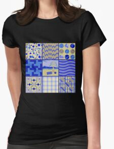 By the Sea - Quasi-Quilt T-Shirt