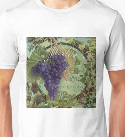 Wines of France Merlot Unisex T-Shirt