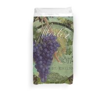Wines of France Merlot Duvet Cover