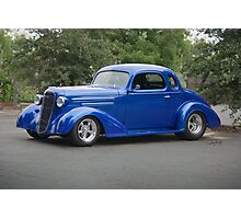 1936 Chevrolet DeLuxe Coupe Photographic Print