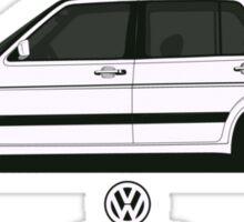 Volkswagen Jetta II Side Sticker