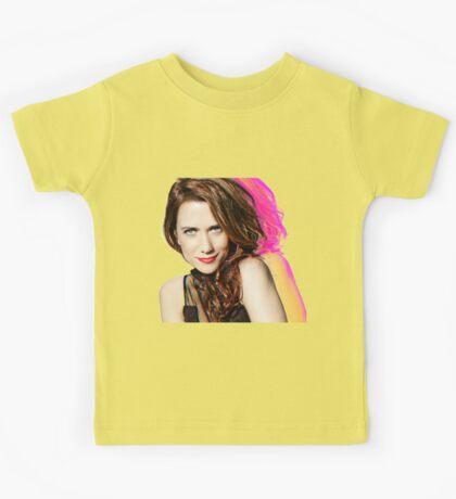 Kristen Wiig SNL Portrait Kids Tee