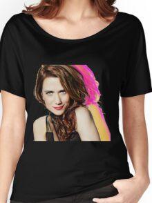 Kristen Wiig SNL Portrait Women's Relaxed Fit T-Shirt