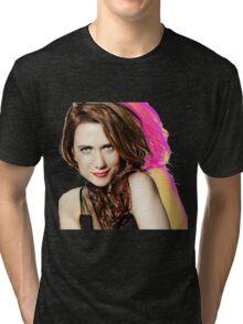 Kristen Wiig SNL Portrait Tri-blend T-Shirt