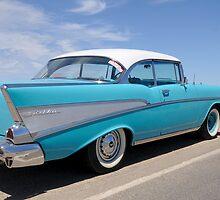 1957 chevy belair by MidnightRocker
