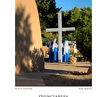 Quinceanera at San Francisco de Asis Church (poster version) by Mitchell Tillison