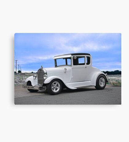1929 Ford 'Casper' Coupe Canvas Print