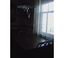 """""""Late"""" for dinner Photographic Print"""