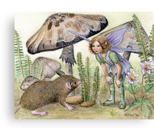 Little Mouse Lost Canvas Print