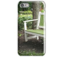 Come On In, the Garden's Fine iPhone Case/Skin