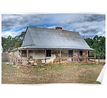 Settler's Cottage, South Australia (HDR) Poster