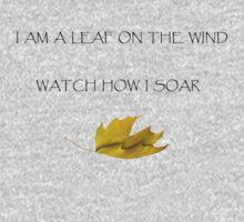 Leaf on the Wind (Light) One Piece - Short Sleeve