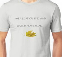 Leaf on the Wind (Light) Unisex T-Shirt