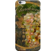 Wines of France Chardonnay iPhone Case/Skin