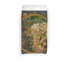 Wines of France Chardonnay Duvet Cover