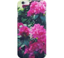Flower Print Nature Tropical Summer iPhone Case/Skin
