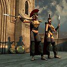 Spartan Sentries by Delphi