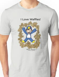 I Love Waffles! Unisex T-Shirt