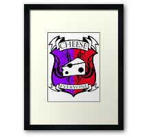 Cheese for everyone! Framed Print