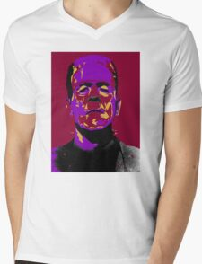 Frankenstein Mens V-Neck T-Shirt
