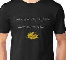 Leaf on the Wind (Dark) Unisex T-Shirt