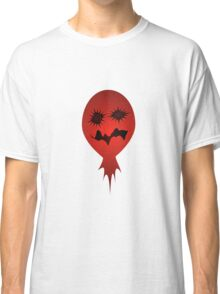 Evil Face Vector Illustration Classic T-Shirt