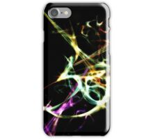 Futuristic Abstract Dance Shapes Artwork iPhone Case/Skin
