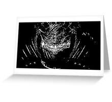 Wrex silhouette Greeting Card