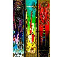 THREEFOLD OF ARCANA BY LIZ LOZ Photographic Print