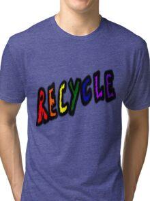 recycle Tri-blend T-Shirt