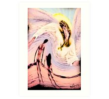 THE JUDGMENT OF EVE TAROT CARDS INSPIRED BY LIZ LOZ Art Print