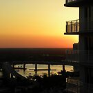 "Intracoastal ""Halifax River"" Sunset by Bonnie Robert"