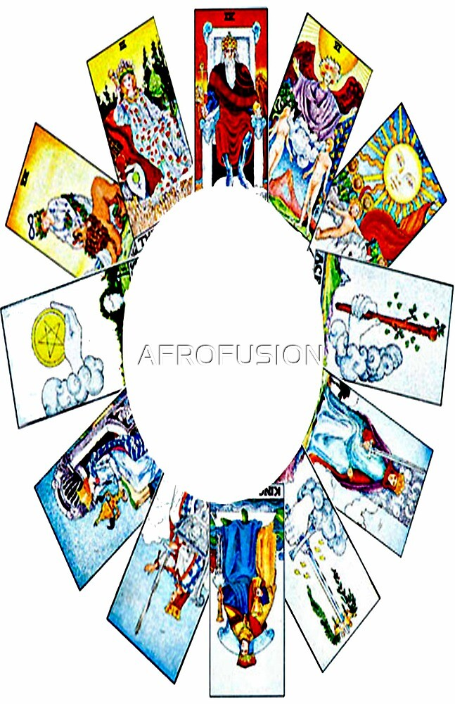 CIRCLE OF TAROT BY LIZ LOZ by AFROFUSION
