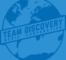 Team Discovery Logo - Blue by TeamDiscovery