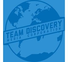 Team Discovery Logo - Blue Photographic Print