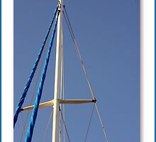 Sailboat Mast by June Holbrook