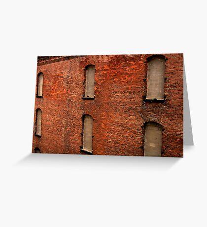 An Old Warehouse in Cincinnati Greeting Card