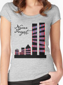 Never Forget New York Women's Fitted Scoop T-Shirt