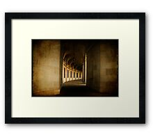 Hallowed Hall Framed Print