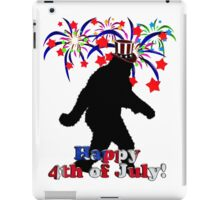 4th of July Squatchin' iPad Case/Skin