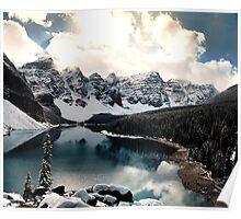 Moraine Lake III Poster