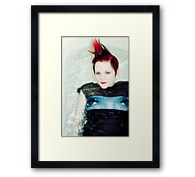 stalk book Framed Print